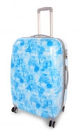 CITIES BLUE cestovný kufor veľký