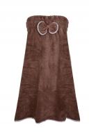 LAGOON TOUCH šaty alebo osuška čokoládová