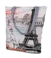 PARIS RIORITAIRE textilná taška