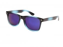 SLNEČNÉ okuliare petrolejovo - čierne