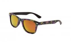 SLNEČNÉ okuliare s fialovými kvetmi