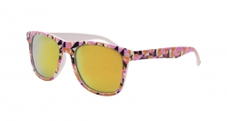 SLNEČNÉ okuliare pink geometric
