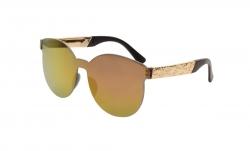 SLNEČNÉ okuliare fialovo - zlaté c36b3d21140