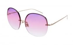 BARDOTKY slnečné okuliare ružovo - zlaté