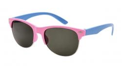 SLNEČNÉ okuliare detské ružovo - modré