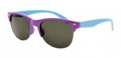 SLNEČNÉ okuliare detské fialovo - tyrkysové