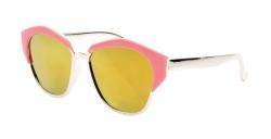 SLNEČNÉ okuliare detské ružovo - strieborné