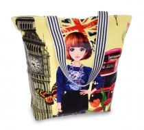 LONDON BUS elegantná taška