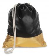 METALIC batoh na chrbát čierno - zlatý