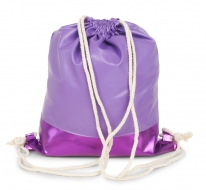 METALIC BAG vak na chrbát fialový