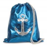 METALIC batoh na chrbát blue