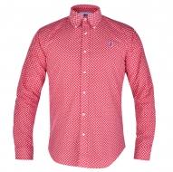 KENT košeľa červená s ornamentami