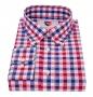 KENT košeľa red & blue caro
