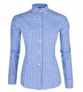 SOPHIA košeľa s modrými kockami