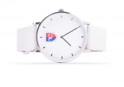 FC náramkové hodinky biele