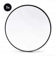 ZVÄČŠOVACIE kozmetické zrkadlo s priemerom 14 cm