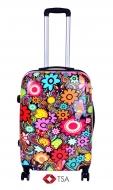 COLOR FLOWERS cestovný kufor