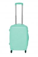 PASTEL MINT cestovný kufor malý