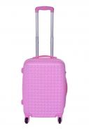 PASTEL PINK cestovný kufor malý