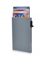 FC SAFE ochranné púzdro na platobné karty tmavo - strieborné
