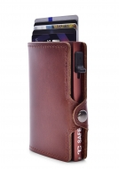 FC SAFE peňaženka na ochranu platobných kartiet hnedá