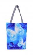 FC ELEGANT textilná taška modrá