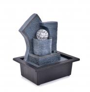 KASKÁDA so Zenovou guľou izbová fontána
