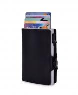 FC SAFE peňaženka na ochranu platobných kariet čierno - strieborná