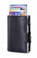 FC SAFE peňaženka na ochranu platobných kariet čierno - sivá