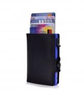 FC SAFE peňaženka na ochranu platobných kariet čierno - modrá