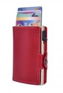 FC SAFE peňaženka na ochranu platobných kariet zlato - bordová