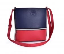 INFINITY CROSSBODY kabelka modro - červená