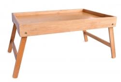 GOECO skladací stolík z bambusu