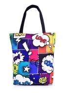 ELEGANT COMICS textilná taška