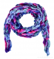 ÚZKY pletený šál