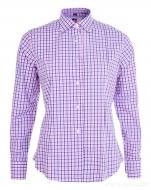SOPHIA košeľa s modro - ružovými kockami