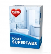 TOILET SUPERTABS čistiace tablety do WC