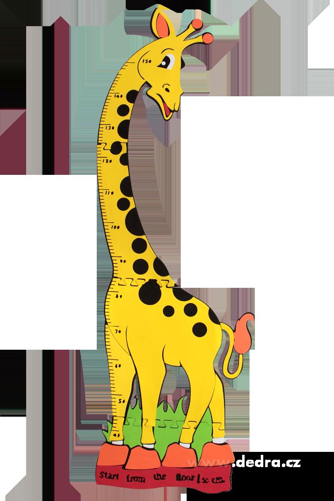 DETSKÝ meter veselá žirafa