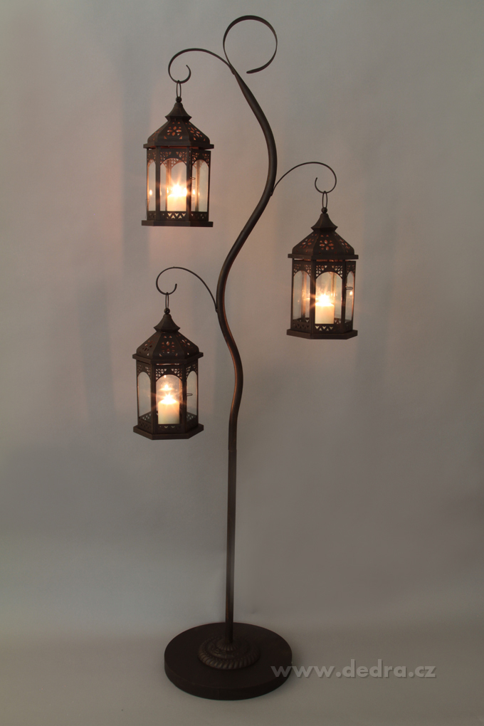 xxxl kovov svietnik s 3 z vesn mi lamp mi dedra online. Black Bedroom Furniture Sets. Home Design Ideas