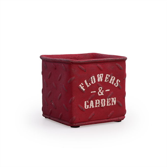 57f38384c1 FLOWERS   GARDEN kvetináč červený - DEDRA online