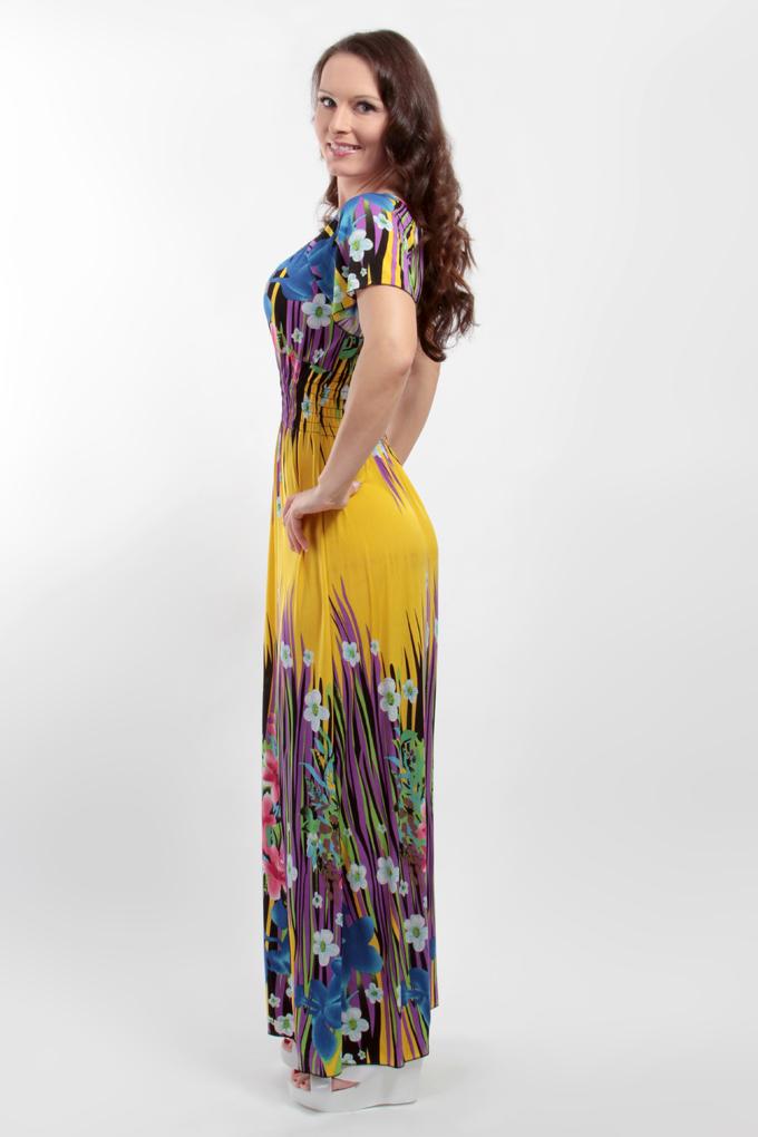 5335f7e803c6 WANETTA dlhé šaty - DEDRA online