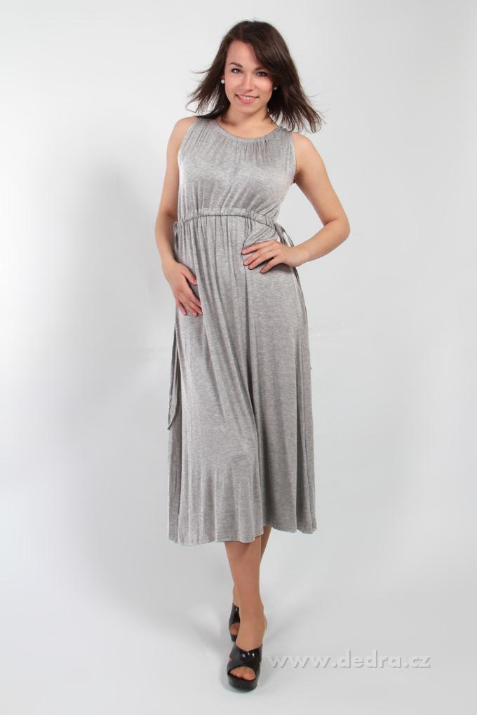 46974bafd056 ANNA dlhé šaty šedé · ANNA dlhé šaty šedé ...