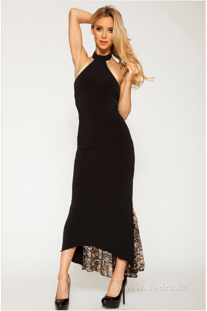 28aabfc46f3d ABIRA elegantné dlhé šaty - DEDRA online