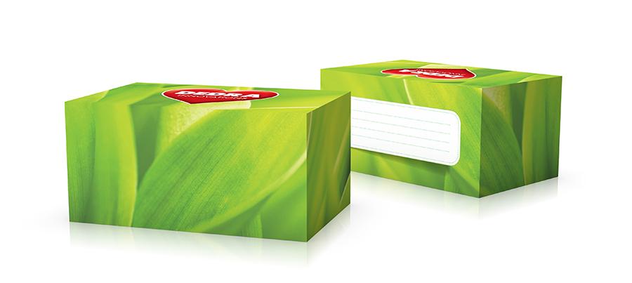 Krabička na vzorky dekor GREEN