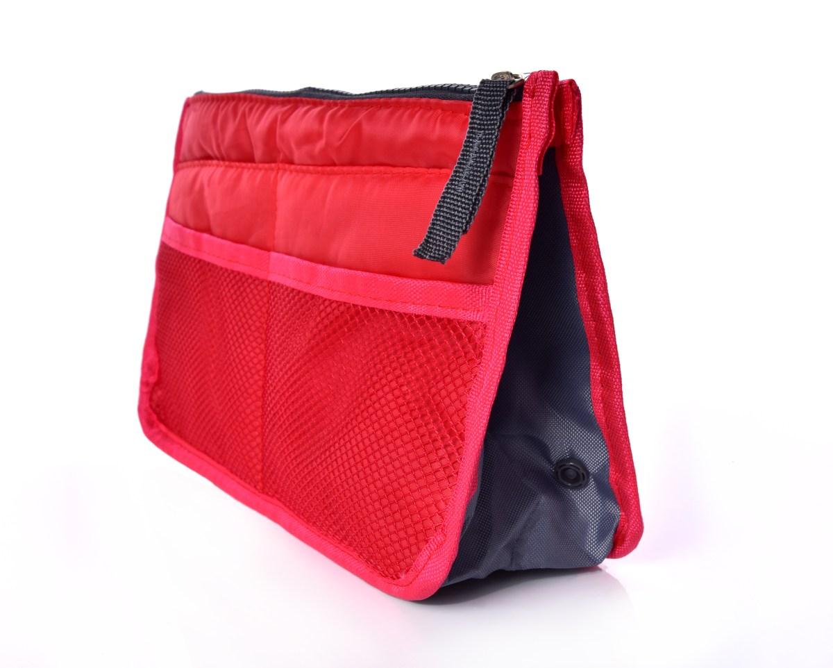 ce8039c51d ORGANIZÉR do kabelky alebo tašky červený - DEDRA online