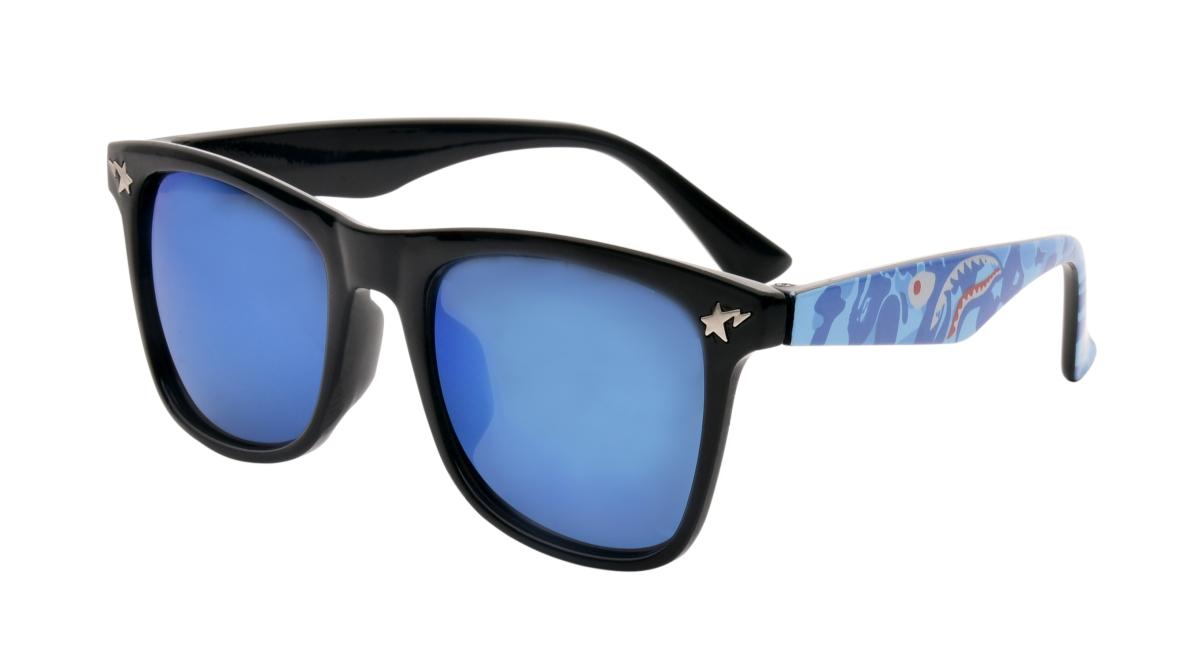 SLNEČNÉ okuliare detské čierno - modré - DEDRA online b422379b012