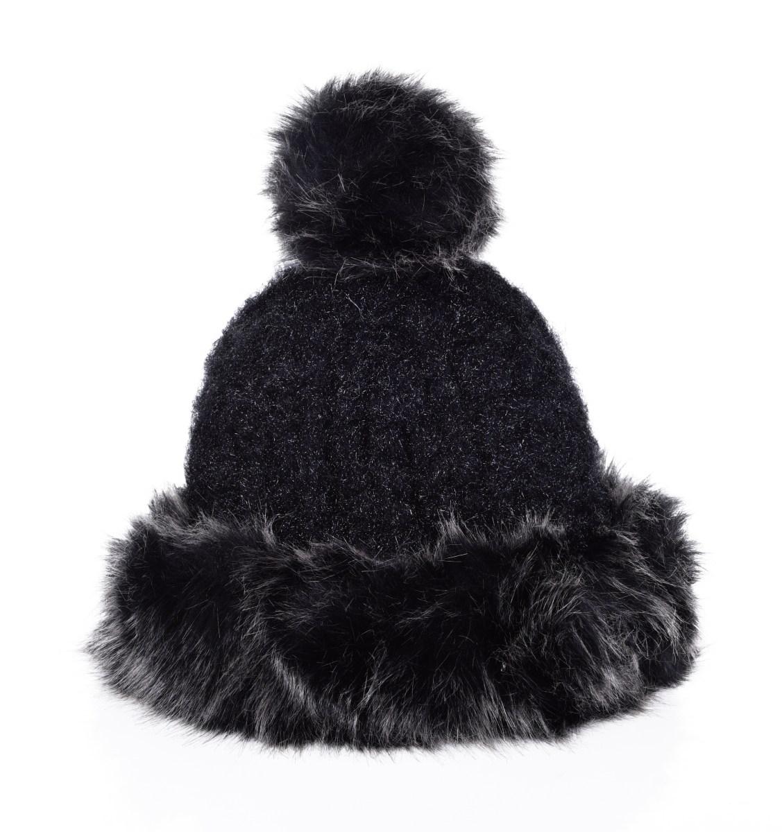 f819e8a4f POLARIS pletená čiapka čierna - DEDRA online