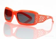 Slnečné okuliare 100% UV ochrana oranžové - detske 69bc179dd81